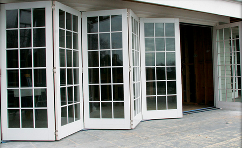 Folding Glass Doors Efficient Space And Sound Partitions Welcome